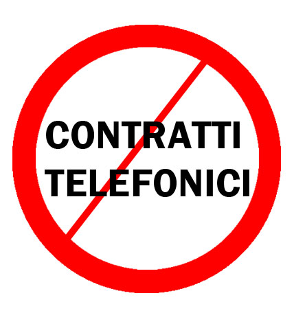 Evitate i contratti telefonici